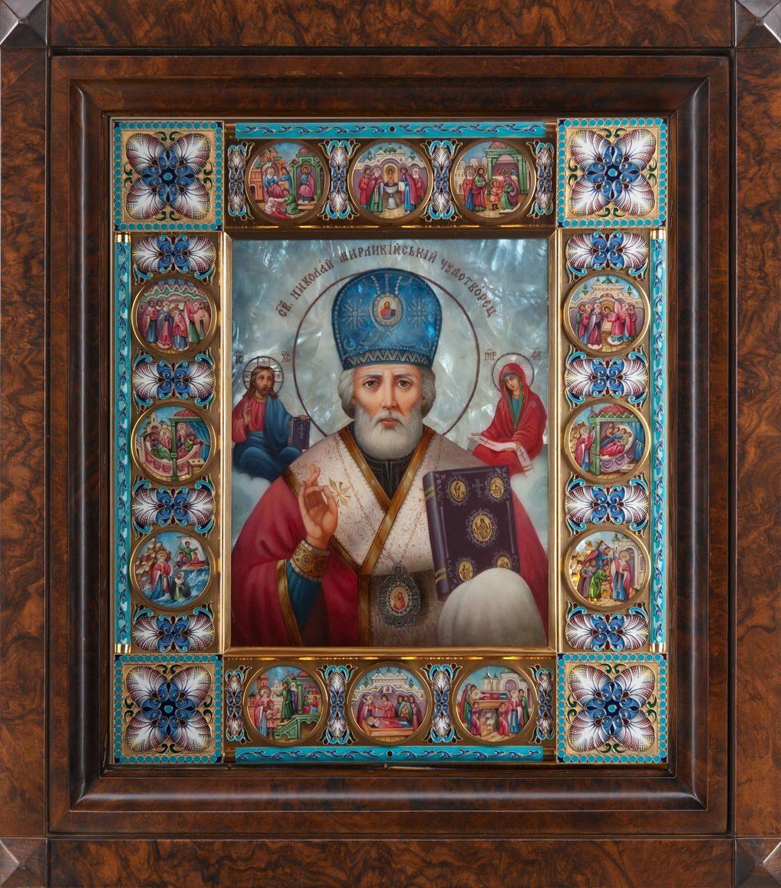 Икона Святой Николай Чудотворец,икона ...: bytenko.ru/shop?mode=folder&folder_id=1244000